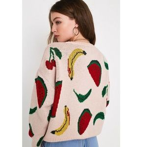 Fruit Patterend Sweater